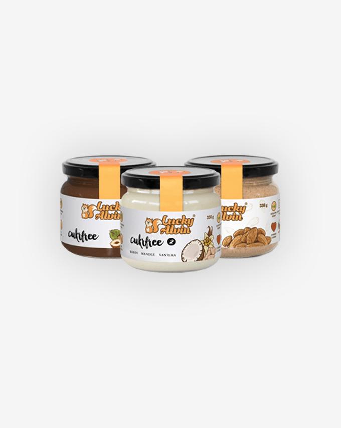 Ořechy a ořechová másla